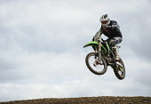 Motocross action at Tinto Park, South Lanarkshire. Picture Credit : Andrew Wilson / Scottish Viewpoint Tel: +44 (0) 131 622 7174   E-Mail : info@scottishviewpoint.com This photograph cannot be used wi... Public 2012,racing,motorcycle,race,rider,compete,competition,motorbike,MX,event,sport,trials,bike,jump