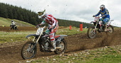 Motocross action at Tinto Park, South Lanarkshire. Picture Credit : Andrew Wilson / Scottish Viewpoint Tel: +44 (0) 131 622 7174   E-Mail : info@scottishviewpoint.com This photograph cannot be used wi... Public 2012,racing,motorcycles,motorcycle,race,rider,riders,compete,competition,motorbike,motorbikes,MX,event,sport,trials,bike,bikes