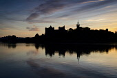 Looking over Linlithgow Loch to Linlithgow Palace and St Michael's Church at dawn, Linlithgow, West Lothian. Picture Credit : David Queenan / Scottish Viewpoint  Tel: +44 (0) 131 622 7174  E-Mail : in... Public 2010,autumn,atmospheric,water,historic,scotland,attraction,ruin,ruins,religion,spire,reflection,sunrise
