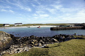 Scarinish on the Isle of Tiree, Inner Hebrides. Picture Credit : Iain McLean / Scottish Viewpoint  Tel: +44 (0) 131 622 7174  E-Mail : info@scottishviewpoint.com  Web: www.scottishviewpoint.com This p... Public 2012,spring,sunny,housing,island,argyll,village,community,coast,coastal,water,beach,sand,sandy
