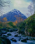 Buchaille Etive Mor covered with a dusting of snow, Highlands of Scotland. Picture Credit : Ian Macrae Young / Scottish Viewpoint  Tel: +44 (0) 131 622 7174  E-Mail : info@scottishviewpoint.com  Web:... Public autumn,atmospheric,mountain,mountains,munro,river,trees