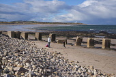 Lossiemouth, Moray. Picture Credit : D Barnes / Scottish Viewpoint  Tel: +44 (0) 131 622 7174  E-Mail : info@scottishviewpoint.com  Web: www.scottishviewpoint.com This photograph cannot be used withou... Public 2012,winter,sunny,coast,coastal,water,beach,sand,sandy,lighthouse,people,family,child,children,walking