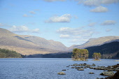 Loch Ossian, Highlands of Scotland. Picture Credit : Chris Robson / Scottish Viewpoint  Tel: +44 (0) 131 622 7174  E-Mail : info@scottishviewpoint.com  Web: www.scottishviewpoint.com This photograph c... Public 2012,spring,sunny,water,highland,hills,mountains