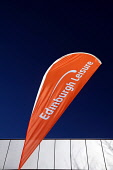 Edinburgh Leisure banner at the Commonwealth Pool, Edinburgh. Picture Credit : Neil Sinclair / Scottish Viewpoint  Tel: +44 (0) 131 622 7174  E-Mail : info@scottishviewpoint.com  Web: www.scottishview... Public 2012,sunny,city,sign,signage,swimming,activity,sport,facility,facilities