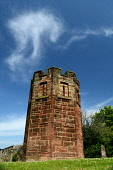The watch tower in the cemetery at Dalkeith, Midlothian. Picture Credit : Neil Sinclair / Scottish Viewpoint  Tel: +44 (0) 131 622 7174  E-Mail : info@scottishviewpoint.com  Web: www.scottishviewpoint... Public, NMR 2012,summer,sunny,grave,yard,graveyard,graves,body,snatchers,snatching,resurrectionists,morthouse,mort,house