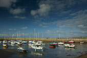 Fisherrow Harbour at dawn, Musselburgh, East Lothian. Picture Credit : Keith Fergus / Scottish Viewpoint  Tel: +44 (0) 131 622 7174  E-Mail : info@scottishviewpoint.com  Web: www.scottishviewpoint.com... Public 2012,spring,sunny,boats,yachts,coast,coastline,sailing,low,tide,firth,forth,water