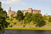 River Ness and Inverness Castle, Highlands of Scotland.  Picture Credit : Laurence Leech / Scottish Viewpoint  Tel: +44 (0) 131 622 7174  E-Mail : info@scottishviewpoint.com  Web: www.scottishviewpoin... Public 2009,summer,sunny,building,architecture,water,highland,city