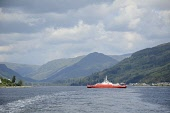 The Western Ferries vehicle ferry service between Hunter's Quay, Dunoon, and McInroy's Point, Gourock, Argyll. Picture Credit : Chris Robson / Scottish Viewpoint   Tel: +44 (0) 131 622 7174  E-Mail :... Public 2011,summer,sunny,firth,clyde,transport,boat,hills