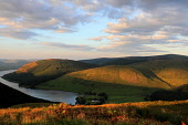 Summer evening light over Tibble Shiels Inn at the southern end of St Marys Loch, Scottish Borders. Picture Credit : Jason Baxter / Scottish Viewpoint   Tel: +44 (0) 131 622 7174  E-Mail : info@scotti... Public 2012,sunset,mellow,water,rural,countryside,scenic,atmospheric,hill,hills,walking,hillwalking,forestry