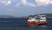 The Western Ferries vehicle ferry  heading towards Hunter's Quay, Dunoon from McInroy's Point, Gourock, Argyll. Picture Credit : Mike Clarke / Scottish Viewpoint   Tel: +44 (0) 131 622 7174  E-Mail :... 2009,summer,sunny,transport,boat,water,firth,clyde,service