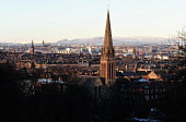 View from Queen's Park towards the city centre of Glasgow. Picture Credit : Tony Clerkson / Scottish Viewpoint   Tel: +44 (0) 131 622 7174  E-Mail : info@scottishviewpoint.com  This photograph cannot... Public 2011,winter,atmospheric,cityscape,city,urban,skyline,snow,church,spire,religion