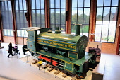 Summerlee - Museum of Scottish Industrial Life, Coatbridge, North Lanarkshire. Picture Credit : Tony Clerkson / Scottish Viewpoint   Tel: +44 (0) 131 622 7174  E-Mail : info@scottishviewpoint.com  Thi... Public 2010,interior,heritage,history,train,visitor,attraction,tourist,attaction,industrial,educational,engine,railway,steam