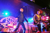 The Undertones play at King Tuts Wah Wah Hut, Glasgow. Picture Credit : Tony Clerkson / Scottish Viewpoint   Tel: +44 (0) 131 622 7174  E-Mail : info@scottishviewpoint.com  This photograph cannot be u... Public 2010,interior,gig,music,live,performance,energy,energetic,colour,vibrant,vibe,concert,band,sing,singer,musician,musicians,guitar,guitarist,punk,reformed