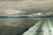 The island of Harris in the Outer Hebrides, Scotland, as seen from the passenger ferry to Skye.  Photograph � Colin McPherson, 18/07/02. Tel. +44 (0)1968 661644 or 07831 838717. Colin McPherson
