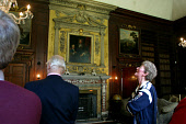 Invited guests in the library of Newhailes House in Musselburgh, East Lothian, which will be open to the public for the first time tomorrow following its purchase by the National Trust for Scotland fr... Colin McPherson