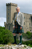 Lord John Macleod, chief of the Clan Macleod, pictured outside his family castle at Dunvegan on the Isle of Skye on Scotland's west coast. Last year, Lord MacLeod made the contoversial decision to sel... Colin McPherson