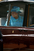 GLASGOW, SCOTLAND, UK: The Queen greets crowds of wellwishers in the city's George Square on the first day of her 1000-mile, seven day Golden Jubilee tour of Scotland. Earlier the Queen attended a ser... Colin McPherson