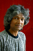 EDINBURGH, SCOTLAND, UNITED KINGDOM: Sri Lankan novelist and Booker shortlisted writer, Romesh Gunesekera, pictured at the Edinburgh International Book Festival, where he talked about his work.  Photo... Colin McPherson