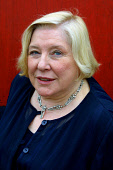 EDINBURGH, SCOTLAND, UNITED KINGDOM: British author Fay Weldon, pictured at the Edinburgh International Book Festival, where she gave a talk about her work.  Photograph � Colin McPherson, 11/08/02. Te... Colin McPherson