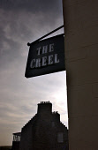 The Creel Restaurant, an award winning restaurant on the Front Road, St Margarets Hope South Ronaldsay, Orkney PIC: ALLAN MILLIGAN/SCOTTISH VIEWPOINTTel: +44 (0) 131 622 7174  Fax: +44 (0) 131 622 717... ISLES,ISLE,ISLANDS,EATING,DINING,FOOD,SIGN,SIGNAGE,MARGARETS,BUILDING,ROOMS,ACCOMMODATION,ATMOSPHERIC