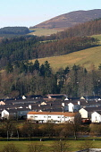 The Bannerfield housing scheme in Selkirk in the Scottish Borders. Council house residents in the Scottish Borders have voted for a stock transfer from the local authority's control to the newly-forme... PUBLIC, NMR HOUSING