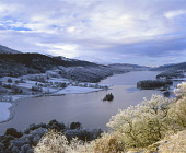 A hoar frost settles over the Queen's View and Loch Tummel near Pitlochry, Perthshire. PIC: SUSAN PETTIGREW/ SCOTTISH VIEWPOINT Tel: +44 (0) 131 622 7174   Fax: +44 (0) 131 622 7175 E-Mail : info@scot... PUBLIC, NMR TREES,WINTER,LOCH