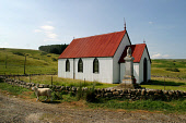 The Church of Scotland church at Syre, Sutherland, in Strathnaver, home of the infamous factor Patrick Sellars, associated with the Highland Clearances17/07/03 PIC: Colin McPherson/SCOTTISH VIEWPOINT...