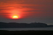 The sun setting over Strathy lighthouse at Strathy Point, Sutherland, on Scotland's north coast. PIC: Colin McPherson/SCOTTISH VIEWPOINT Tel: +44 (0) 131 622 7174   Fax: +44 (0) 131 622 7175 E-Mail :...