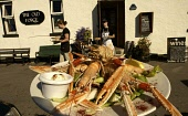 The Old Forge Pub at Inverie, Knoydart. A plate of langoustine. PIC:ALLAN MILLIGAN/SCOTTISH VIEWPOINT Tel: +44 (0) 131 622 7174   Fax: +44 (0) 131 622 7175 E-Mail : info@scottishviewpoint.com This pho... BAR,SEAFOOD,FOOD
