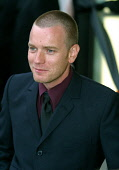Actor Ewan McGregor at the official opening of the new Harvey Nichols shop in Edinburgh, where he cut the ceremonial ribbon as guest of honour.. 4/09/02 PIC:COLIN MCPHERSON/ SCOTTISH VIEWPOINT Tel: +4... SHOP,SHOPPING