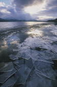 A STORMY SKY AND COMPACTED ICE AT LOCH MORLICH. HIGHLAND. Peter Cairns/ Scottish Viewpoint Tel: +44 (0) 131 622 7174   Fax: +44 (0) 131 622 7175 E-Mail : info@scottishviewpoint.com This photograph sho... CLOUDS,WINTER,WATER,TEXTURE,HILLS