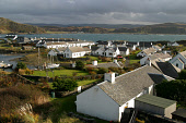 Looking over the rooftops of cottages on Easdale island, Argyll. PIC: C.MCPHERSON/SCOTTISH VIEWPOINT Tel: +44 (0) 131 622 7174   Fax: +44 (0) 131 622 7175 E-Mail : info@scottishviewpoint.com This phot... COAST,WATER,SUNNY,SUMMER,HOUSING,COMMUNITY