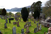 View over Loch Ness from a burial ground near Whitehills on the eastern bank of the loch, Highland. PIC: C.MCPHERSON/SCOTTISH VIEWPOINT Tel: +44 (0) 131 622 7174   Fax: +44 (0) 131 622 7175 E-Mail : i... BRAVES,WATER,SUMMER,RELIGION,GRAVEYARD,GRAVESTONES,GRAVESTONE,GRAVE,GENEALOGY,CEMETERY