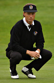 BERNARD LANGER PLAYING IN THE RYDER CUP FOURSOMES AT THE DE VERE BELFRY, ENGLAND. 28.09.02 PIC: FRANK PETERS/SCOTTISH VIEWPOINT Tel: +44 (0) 131 622 7174   Fax: +44 (0) 131 622 7175 E-Mail : info@scot... GOLF,SPORT,GOLFER