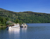 PLEASURE BOATS AT INVERUGLAS ON LOCH LOMOND, ARGYLL. PIC: ALLAN JAMIESON/VISITSCOTLAND/SCOTTISH VIEWPOINT  Tel: +44 (0) 131 622 7174  E-Mail : info@scottishviewpoint.com  This photograph cannot be use... Public AILST,SUNNY,SUMMER,BOAT,CRUISING,PLEASURE,WATER