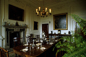 THE DINING ROOM OF HILL OF TARVIT MANSION HOUSE (NATIONAL TRUST FOR SCOTLAND), SOUTH OF CUPAR, FIFE. PIC:PAUL TOMKINS/VisitScotland/SCOTTISH VIEWPOINT Tel: +44 (0) 131 622 7174   Fax: +44 (0) 131 622... HERITAGE,ARCHITECTURE,BUILDING,EXHIBITION,FURNITURE,FIREPLACE,INTERIOR