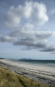 Beach on west side of the Island of Baleshare off the west coast of North Uist, Outer Hebrides. Picture Credit: P.Tomkins / VisitScotland /Scottish Viewpoint Tel: +44 (0) 131 622 7174   Fax: +44 (0) 1... Public island,islands,2010,western isles,summer,sunny,sand,sandy,pebbles,empty,hills,clouds