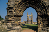 THE REMAINS OF THE 12C-13C CATHEDRAL AT ST. ANDREWS (ONCE THE LARGEST CHURCH IN SCOTLAND AND NOW MAINTAINED BY HISTORIC SCOTLAND), FIFE. PIC:PAUL TOMKINS/VisitScotland/SCOTTISH VIEWPOINT Tel: +44 (0)... BUILDING,RELIGION,RUIN,SUNNY