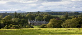 Ballathie Country House Hotel, Kinclaven, Perthshire. Picture Credit: Paul Tomkins / VisitScotland / Scottish Viewpoint Tel: +44 (0) 131 622 7174   E-Mail : info@scottishviewpoint.com This photograph... Public 2011,summer,sunny,building,architecture,accommodation,countryside,hills,woodland,panoramic
