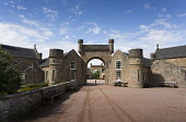 The entrance to the Visitor Centre at Culzean Castle and Country Park near Maybole, South Ayrshire.   Picture Credit : Paul Tomkins / VisitScotland / Scottish Viewpoint   Tel: +44 (0) 131 622 7174  E-... Public 2012,summer,sunny,attraction,tourist,architecture,national,trust,scotland,nts,arch
