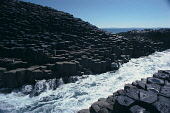 THE SEA CHANNELS ITS WAY THROUGH THE DISTINCTIVE BASALTIC ROCK FORMATIONS ON THE ISLAND OF STAFFA, OFF MULL, INNER HEBRIDES. PIC: VisitScotland/SCOTTISH VIEWPOINT Tel: +44 (0) 131 622 7174   Fax: +44... WATER,SUNNY,NATIONAL TRUST FOR SCOTLAND,COAST,GEOLOGY,SUMMER