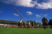 A COMPETITOR IS HELPED PRIOR TO HIM TAKING PART IN THE TOSSING THE CABER EVENT AT THE BRAEMAR GATHERING HELD ANNUALLY IN SEPTEMBER, AT BRAEMAR, ABERDEENSHIRE.PIC: P. TOMKINS/VisitScotland/SCOTTISH VIE... ACTIVITY,TARTAN,SUNNY,SHOWGROUND,ROYAL,KILT,HIGHLAND,HEAVY,GAMES,EVENT,AUTUMN,ROYAL,ROYALS,ROYALTY,DEESIDE,HIGHLAND,GAMES