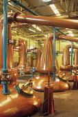 THE STILL ROOM OF THE GLENFIDDICH DISTILLERY (FOUNDED BY WILLIAM GRANT IN 1886 AND ONE OF THE LARGEST MALT WHISKY DISTILLERIES IN SCOTLAND), NORTH EAST OF DUFFTOWN, MORAY. PIC: P.TOMKINS/VisitScotland... GUIDE,VISITOR CENTRE,MANUFACTURE,INDUSTRY