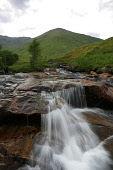 A WATERFALL IN A SMALL BURN, GLEN SHIEL, HIGHLAND.   PIC: P.TOMKINS/VisitScotland/SCOTTISH VIEWPOINT Tel: +44 (0) 131 622 7174   Fax: +44 (0) 131 622 7175 E-Mail : info@scottishviewpoint.com This phot... 2006,WATER,TUMBLING,SUMMER,STREAM,SPRING,MOUNTAINS,MOUNTAIN,HILLS,HILL,HIGHLANDS