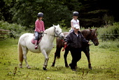 BAREND RIDING CENTRE AT SANDYHILLS ON THE COLVEND COAST, NEAR DALBEATTIE, DUMFRIES AND GALLOWAY.  PIC: PAUL TOMKINS/VisitScotland/SCOTTISH VIEWPOINT Tel: +44 (0) 131 622 7174   Fax: +44 (0) 131 622 71... SUNNY,SUMMER,ACTIVITY,JULY 2006,HORSE,EQUINE,PONY,KID,YOUNGSTER,CHILD,TREK,TREKKING,CHILDREN,KIDS,HORSES,PONIES