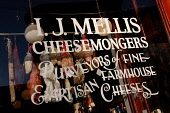 I.J. MELLIS CHEESEMONGER, STOCKBRIDGE, EDINBURGH. PIC : NEIL SINCLAIR/SCOTTISH VIEWPOINT Tel: +44 (0) 131 622 7174 Fax: +44 (0) 131 622 7175 E-Mail: info@scottishviewpoint.com WEB: www.scottishviewpoi... NEIL SINCLAIR/SCOTTISH VIEWPOINT 2008,SPECIALITY,SPECIALISED,SHOPPING,SHOP,RETAIL,FOOD,EATING,CHEESES,CHEESE