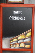 THE SIGN FOR I.J. MELLIS CHEESEMONGER ON VICTORIA STREET, EDINBURGH.  PIC : CHRIS ROBSON/SCOTTISH VIEWPOINT  Tel: +44 (0) 131 622 7174  Fax: +44 (0) 131 622 7175  E-Mail: info@scottishviewpoint.com  W... CHRIS ROBSON/SCOTTISH VIEWPOINT 2008,SPECIALITY,SPECIALISED,SHOPPING,SHOP,RETAIL,FOOD,EATING,CHEESES,CHEESE