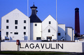 LOOKING OVER TO THE LAGVULIN DISTILLERY ON THE ISLAND OF ISLAY, INNER HEBRIDES.PIC: GLYN SATTERLEY/SCOTTISH VIEWPOINTTel: +44 (0) 131 622 7174  Fax: +44 (0) 131 622 7175E-Mail : info@scottishviewpoint... ARGYLL,WHISKY,SUNNY,MANUFACTURE,ISLE,INDUSTRY