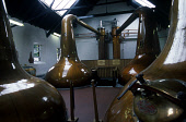 IN THE STILL ROOM AT THE BLAIR ATHOL DISTILLERY, PITLOCHRY, PERTH & KINROSS. PIC: GLYN SATTERLEY/SCOTTISH VIEWPOINT Tel: +44 (0) 131 622 7174   Fax: +44 (0) 131 622 7175 E-Mail : info@scottishviewpoin... INDUSTRY,WHISKY,STILLS,MANUFACTURE,INTERIOR