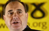 Alex Salmond MP the  SNP Westminster leader .  26/04/04 PIC: ALLAN MILLIGAN/SCOTTISH VIEWPOINT Tel: +44 (0) 131 622 7174   Fax: +44 (0) 131 622 7175 E-Mail : info@scottishviewpoint.com This photograph... POLITICS